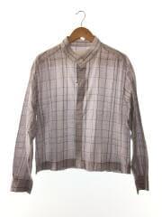 PLAID STANDCOLLAR SHIRTS PLAID STAND/バンドカラーシャツ/2/コットン/チェック