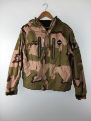 fcrb-167025 TOUR MOUNTAIN PARKA 16FW/S/ナイロン/KHK/カモフラ