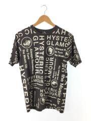 CIRCLE HEAD 総柄Tシャツ 02192CT21/S/コットン/GRY