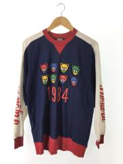 HYS BEAR LIVES pt プルオーバー 01191CL04/長袖Tシャツ/FREE/コットン/NVY