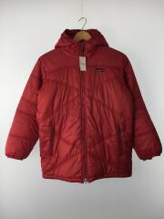 KIDS DAS PARKA 68250F7/インサレーションジャケット/XL/ポリエステル/RED