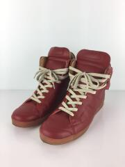 ハイカットスニーカー/27cm/RED