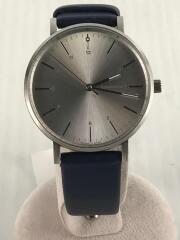 クォーツ腕時計/アナログ/SLV/IN-0007-15