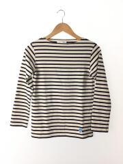 バスクシャツ/0/コットン/WHT/ボーダー