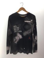 長袖Tシャツ/L/コットン/NVY/CT6196-101