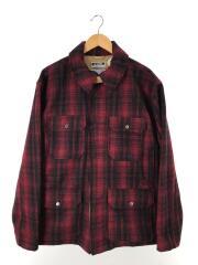 ジャケット/XL/ウール/RED