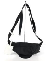 18AW/STEREOTYPE WAISTBAG/S55WB0010/ショルダーバッグ/ポリエステル/BLK