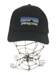patagonia パタゴニア/メッシュキャップ/コットン/黒/無地/38017