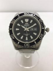 自動巻腕時計/アナログ/ステンレス/BLK/EM75-CO-A
