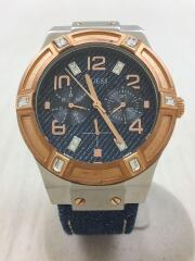クォーツ腕時計/アナログ/IDG/IDG
