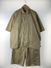 x A.H/20SS/シャツ:F/パンツ:L/メンズ衣料/L/コットン/BEG/無地
