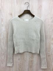 セーター(薄手)/FREE/レーヨン/BEG