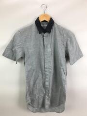 半袖シャツ/4/コットン/GRY