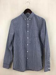 NR11537/L/S WASHER GINGHAM SHIRT/ロングスリーブワッシャーギンガムシャツ/S