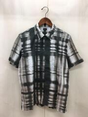 113622/日本製/半袖開襟/ショートスリーブ/オープンカラーシャツ/L/総柄/中古