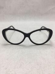 BA5044 033 54□14 140/MADE IN ITALY/伊達眼鏡/ダテメガネ/BLK中古