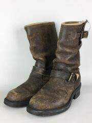 27291/HANDCRAFTED/MADE IN U.S.A.製/エンジニアブーツ/US5/BRW/中古