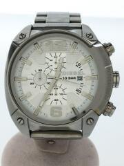 キズ有/DZ-4203/オーバーフロークロノグラフ/クォーツ腕時計/アナログ/ステンレス/SLV中古