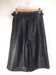 460DAL31-0100/20AW/Eco leather middle PT/エコレザーミドルパンツ/中古
