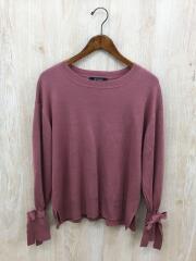 セーター(薄手)/FREE/アクリル/PNK