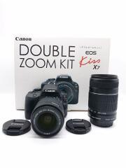 デジタル一眼カメラ EOS kiss X7 ダブルズームレンズキット
