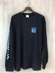 バンズ/長袖Tシャツ/L/コットン/スリーブプリント/袖プリント/SK8