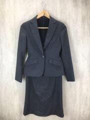 パーフェクトスーツファクトリー/スーツ/5/ウール/GRY/ストライプ