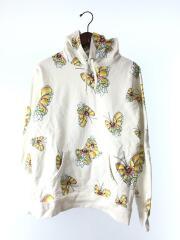 シュプリーム/16SS Gonz Butterfly Hooded Sweatshirt/パーカー/M/コットン