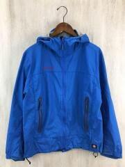 マムート/Lightspeed jacket/マウンテンパーカ/M/ナイロン/BLU/背タグちぎれ