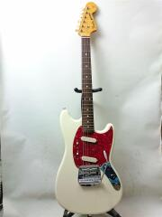 MG69-60 エレキギター/ムスタングタイプ/白系/2S/シンクロタイプ