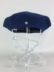 LAULHERE/ベレー帽/--/ウール/NVY/無地