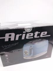 ARIETE Vintage 155 ポップアップトースター ブルー アリエテ