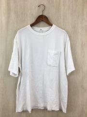 コモリ/17SS/Half Sleeve Crew Neck/Tシャツ/2/コットン/WHT