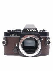 Konica フィルムカメラ A COM1 ブラウン 一眼レフ