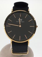 ダニエルウェリントン/DW00100148/クォーツ腕時計/アナログ/--/BLK/NVY