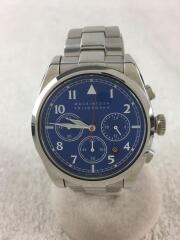 FBZV985/クォーツ腕時計/アナログ/ステンレス/BLU