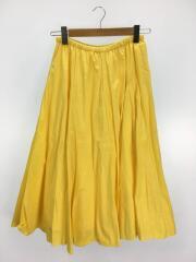 1964-699-0577/ロングスカート/--/コットン/YLW