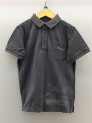 ポロシャツ/--/コットン/GRY