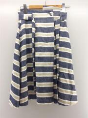 スカート/9/コットン/BLU
