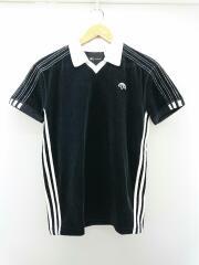 ポロシャツ/XXS/コットン/BLK