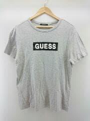 ロゴプリントT/Tシャツ/L/コットン/グレー