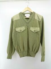 Woolly Pully/コマンドセーター/セーター(薄手)/S/ウール/カーキ