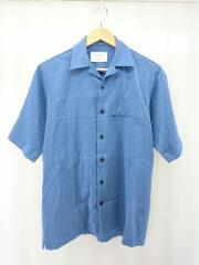 半袖シャツ/1/ポリエステル/BLU