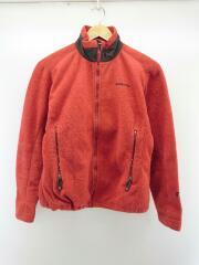 フリースジャケット/S/ポリエステル/RED