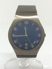 ULTRA SLIM TITANIUM/メッシュベルト/クォーツ腕時計/アナログ/11937-078