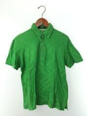 胸ロゴポロシャツ/3/コットン/GRN/BMV26-839-74
