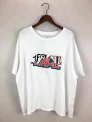 19ss/MIX FACE BIG TEE/Tシャツ/1/コットン/WHT/FNT-TEE-U08