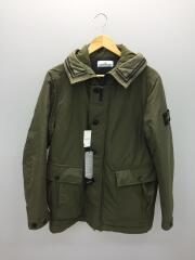 19AW/ポリエステルナイロン プリマロフト フーデッドジャケット/M/KHK/711540626