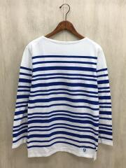 バスクシャツ/3/コットン/NVY/ボーダー