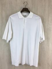20ss/HARD TWIST AMUZEN DOUBLE CLOTH POLO/4/コットン/WHT/A20SP02K